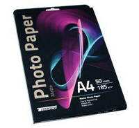 Матовая фотобумага tecno premium photo paper cp a4 185g 50 pack matte (pm 185 a4 cp)