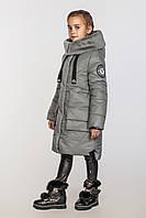 Зимнее модное пальто для девочки Милана (128-158р)