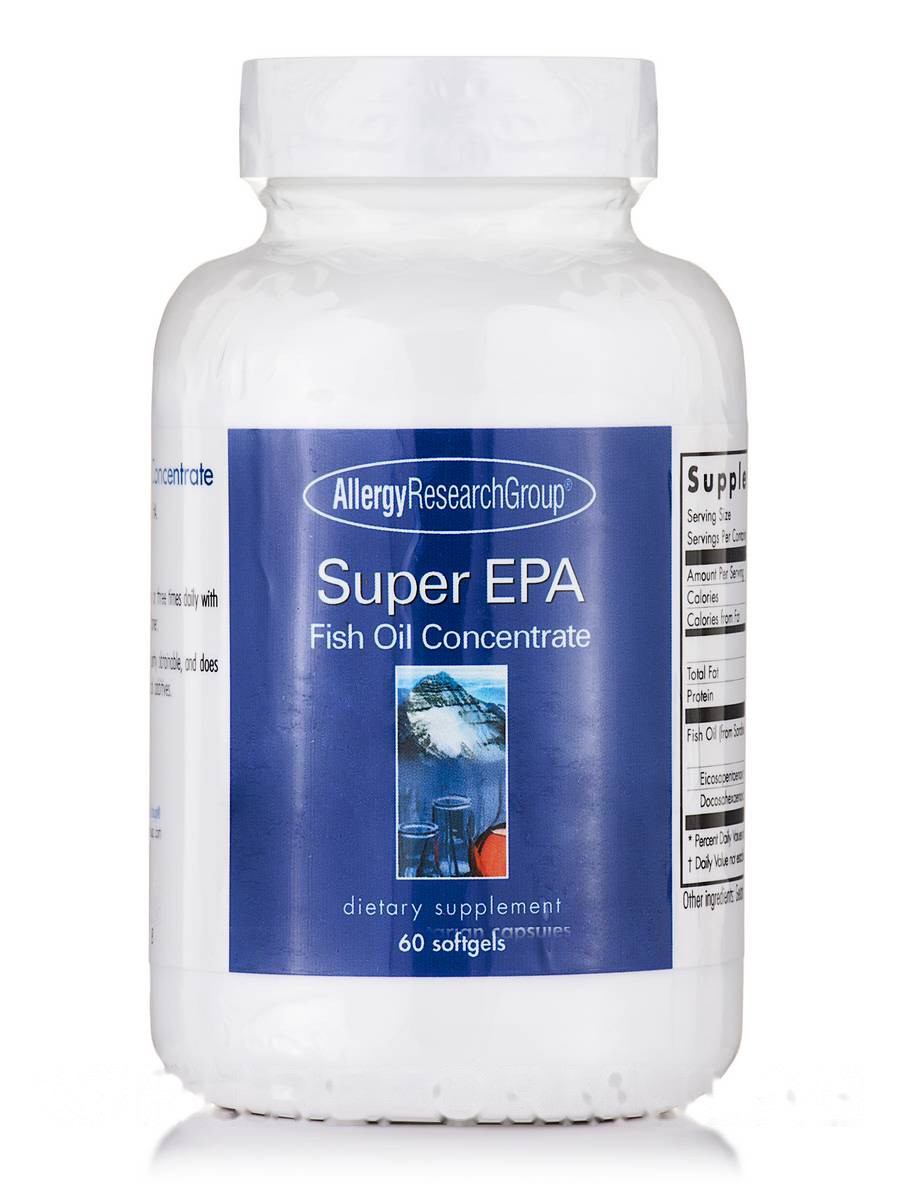 Super EPA Fish Oil Concentrate, 60 Softgels