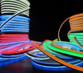 Светодиодный гибкий неон led neon flex ip68