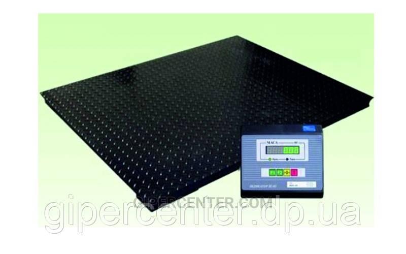 Весы платформенные Промприбор ВН-1000-4 до 1000 кг (1250х1500 мм), дискретность 500 г
