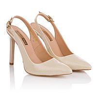 Босоножки женские Foletti (стильные, классический дизайн, острый носок, модные, элегантные)