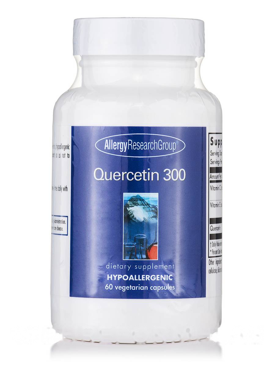 Quercetin 300, 60 Vegetarian Capsules, фото 1