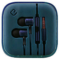 Наушники вакуумные с микрофоном Ergo ES-600i Minion Blue -6220293
