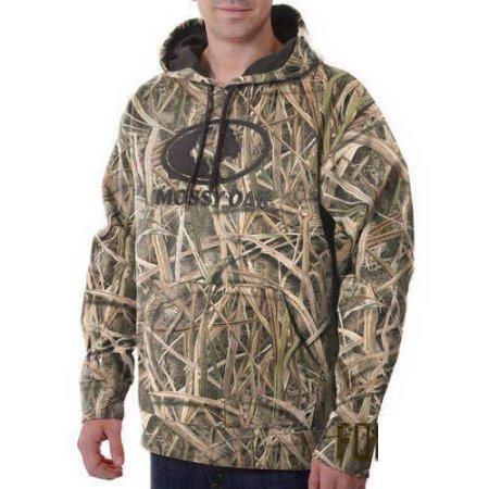 Толстовка для охоты Mossy Oak Mens Camo Performance Pullover Fleece Hoodie