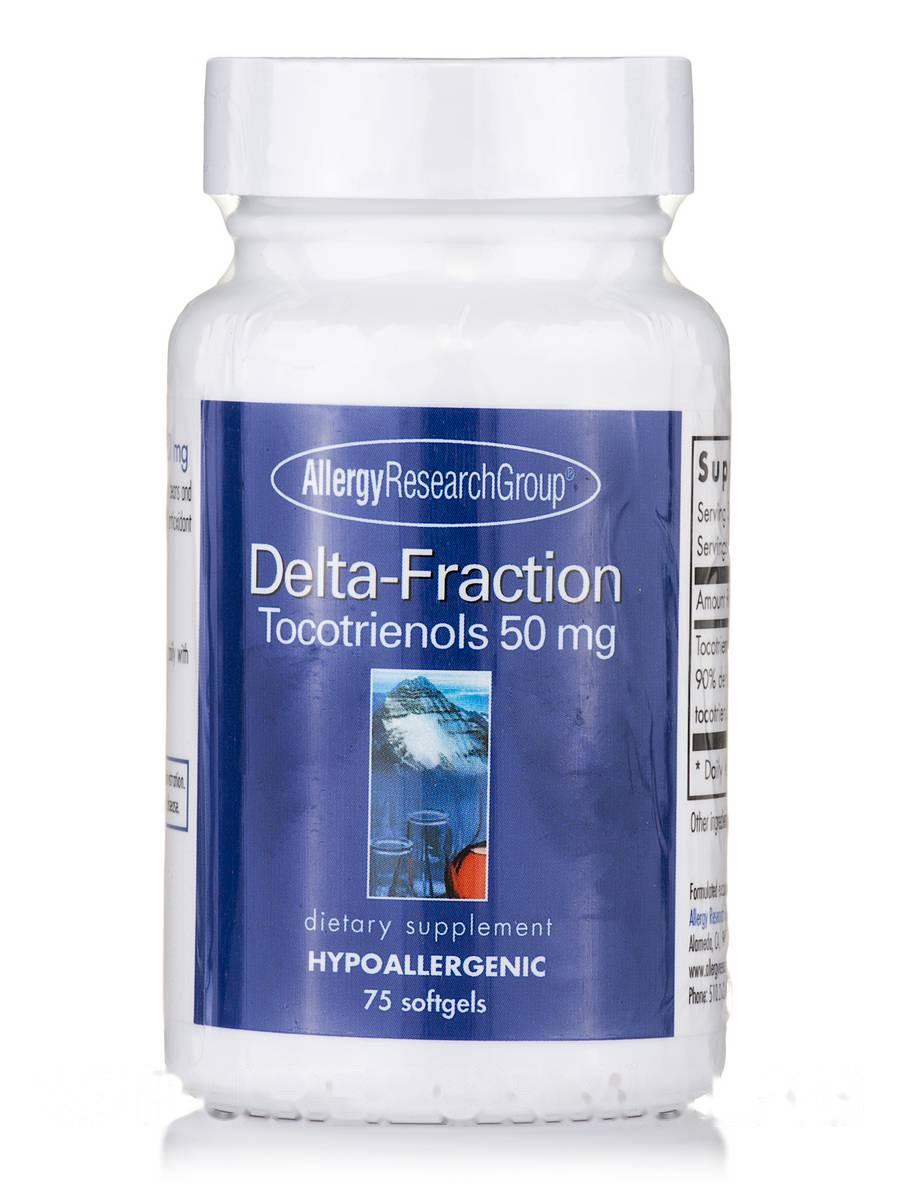 Delta-Fraction Tocotrienols 50 mg, 75 Softgels