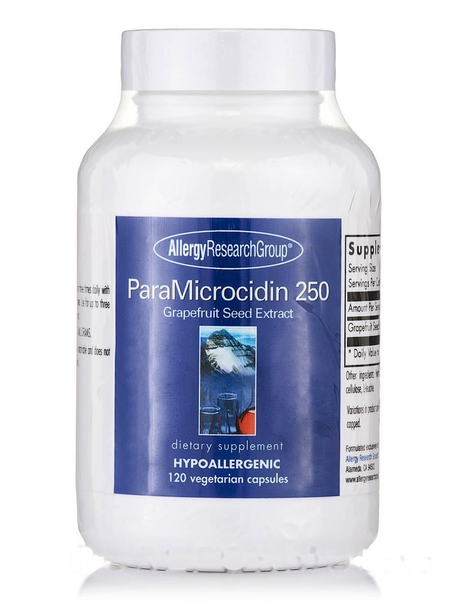 ParaMicrocidin 250 Grapefruit Seed Extract, 120 Vegetarian Capsules