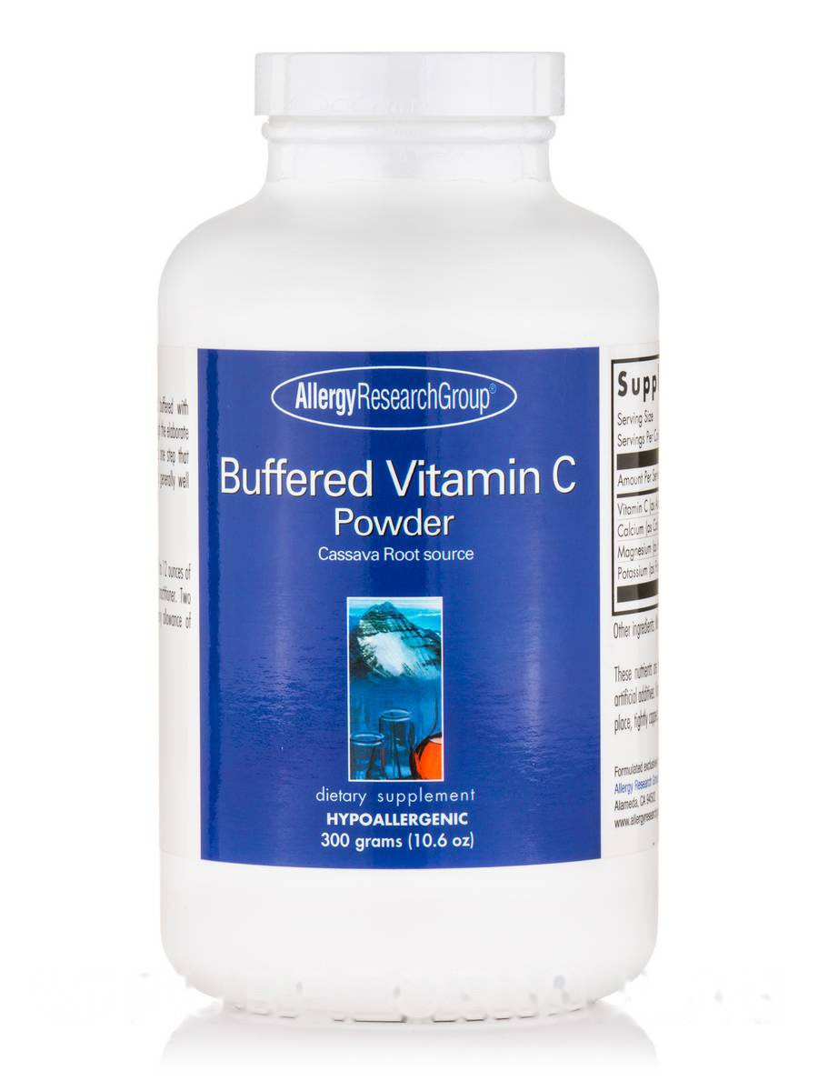 Buffered Vitamin C Powder, 10.6 oz (300 Grams)