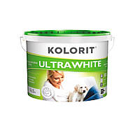 Колорит Kolorit - Ultrawhite Глубокоматовая водно-дисперсионная краска