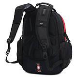 Рюкзак SWISSGEAR. Мужские рюкзаки. Военные рюкзаки. Качественные рюкзаки., фото 6