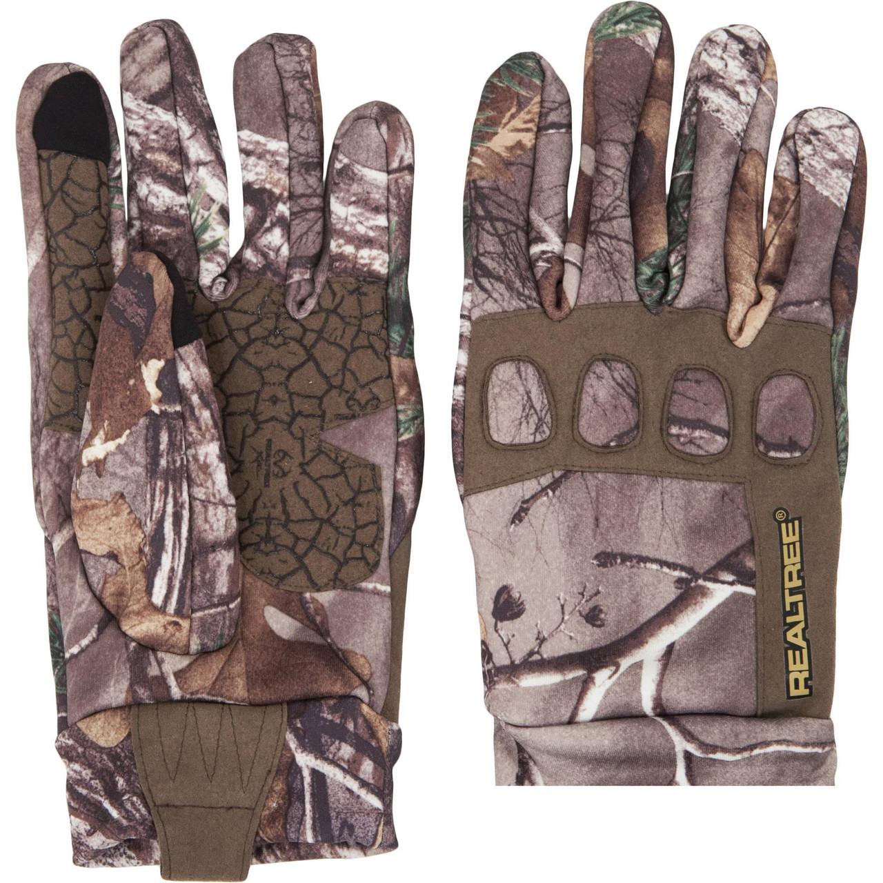 Перчатки для охоты демисезонные Realtree Men's Midweight Gloves
