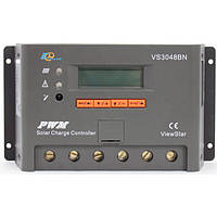 Контролер ШІМ 30А 12/24/36/48В з дисплеєм, (VS3048BN) EPSolar