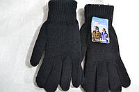 Мужские перчатки вязаные