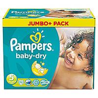 Подгузники Младший Pampers Baby Dry Jumbo Pack