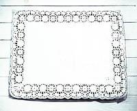 Салфетки ажурные белые 350х450 мм - 250 шт.