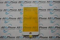 Стекло корпуса для мобильного телефона Apple iPhone 8 Plus с рамкой белое