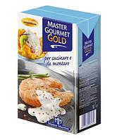 Сливки - крем 34% на растительных маслах Master Martini Gourmet Gold, Италия, 1 л