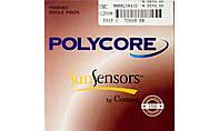 Полимерная фотохромная линза Polycore. Индекс 1,56. (корич.)