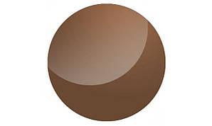 Полимерная солнцезащитная линза без покрытия (коричн.)