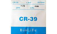 Полимерная линза CR-39 BioLiFe без покрытия. Индекс 1,49.
