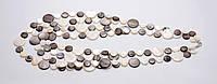 Ожерелье из монеток перламутра