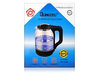 Электрочайник Domotec MS-8120 стекло 2200Вт (2.0 л)