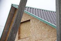 Крыша из металлочерепицы, кровля металлочерепицей