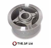 Клапан обратный межфланцевый н/ж IVR (WAFER656) подпружиненный Ду80