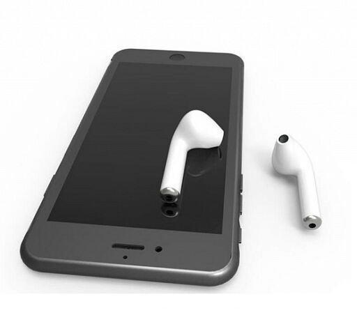 Беспроводные наушники HBQ I7 TWS White невидимые с гарнитурой Mic Bluetooth  для Iphone Android (2 штуки) 9ca9443b83bee
