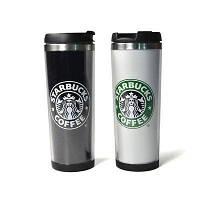 Термокружка тамблер Starbucks (Старбакс) 380 мл Белая