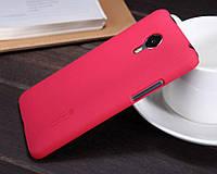 Накладка для Asus ZenFone 4 (A400CXG) пластик Nillkin Matte розовый (+ пленка)