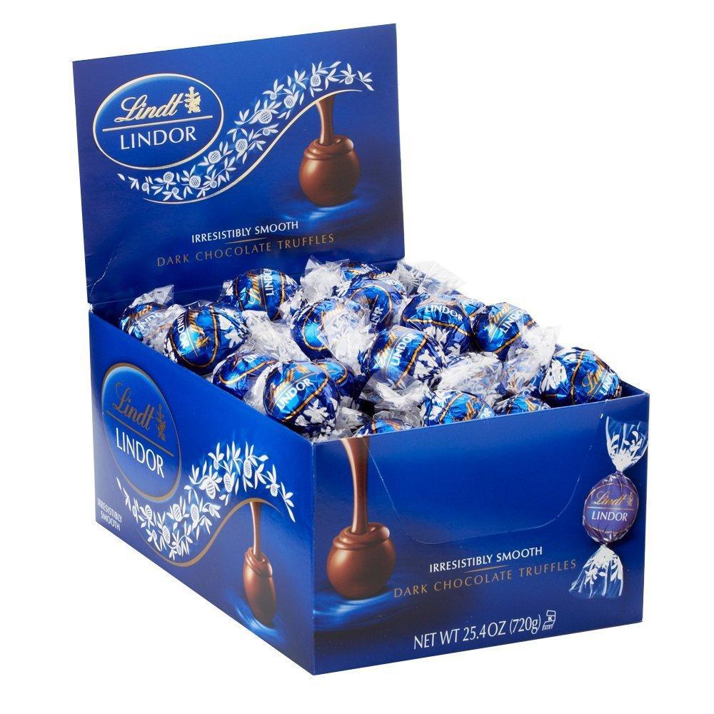 Lindt Lindor Трюфели черный шоколад Dark Chocolate Truffles, 720г