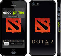 Накладка для iPhone 5/5S пластик Endorphone Dota 2. Logo глянцевый (628c-18-308)