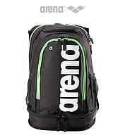 Вместительный рюкзак на 40 литров Arena Fastpack Core (Black/Flou Green), фото 1