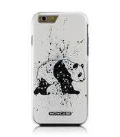 Накладка для iPhone 5/5S пластик WOW case Combo Панда (Изитрейд)