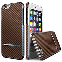 Накладка для iPhone 6/6s пластик Carbon Stick case Copper Gold (VSIP6SCS2 изитрейд)