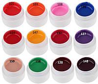 Гель краски сосо 12 шт МОЖНО ИСПОЛЬЗОВАТЬ КАК ГЕЛЬ-ЛАК