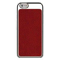 Накладка для iPhone 6/6s пластик Araree Metal Jacket case красный (ARIP6MJ4 изитрейд)