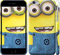 Накладка для iPhone 6/6s пластик Endorphone миньоны 7 глянец (859c-45-308)
