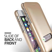 Накладка-слайд для iPhone 6/6s пластик Verus Slim Hard Slide Золотой (VSSHSL2)