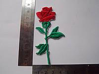 Аппликация клеевая роза , 10 шт.
