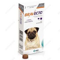 Жевательная таблетка BRAVECTO БРАВЕКТО от блох и клещей для собак 5-10 кг 1 табл
