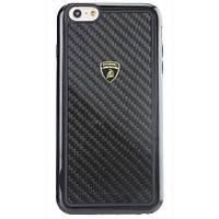 Накладка для iPhone 6 / 6S пластик Lamborghini Elemento D2 Black (LB-TPUPCIP6S-EL / D2-BK)