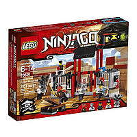 Конструктор Лего Ниндзяго Побег из тюрьмы Криптариум/LEGO Ninjago Kryptarium Prison Breakout Building