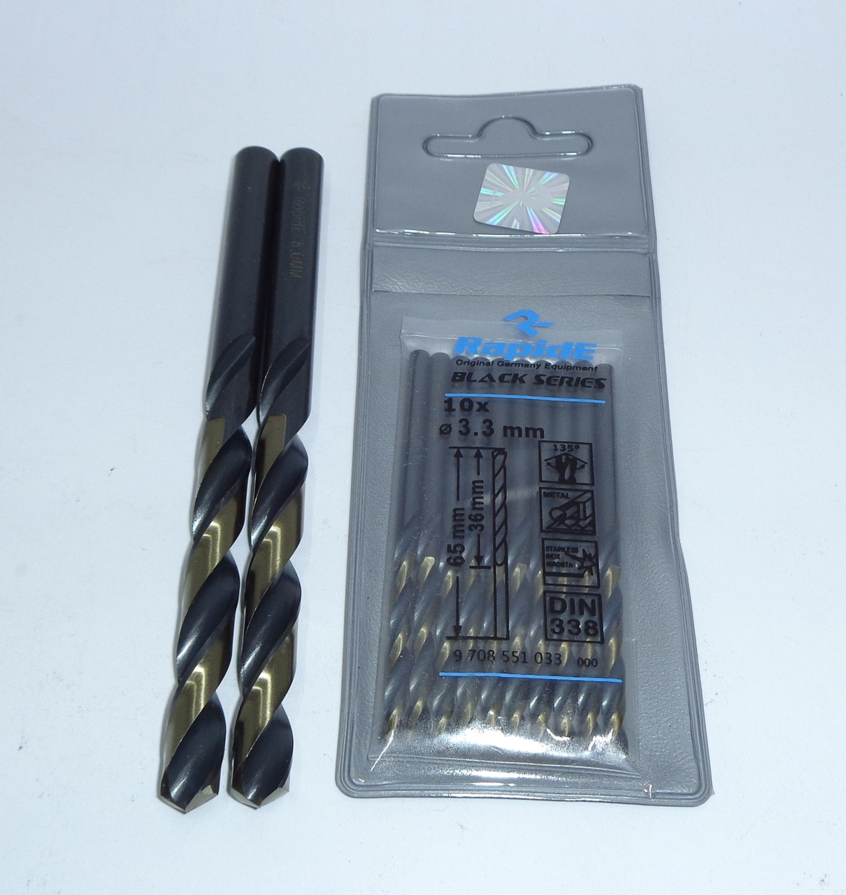 Свердло по металу Діаметром 7 мм RapidE Blask Series