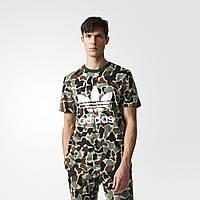 Футболка Adidas Camouflage Trefoil