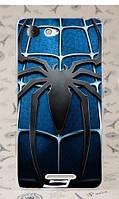 Накладка для Acer Liquid E380 (E3) DualSim пластик Infinity Glamour паук