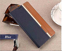 Чехол-Книжка для Asus ZenFone C (ZC451CG) Infinity Elegant Темно-синий -34693