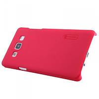 Накладка для HTC One M9 пластик Nillkin Matte красный (+ пленка)