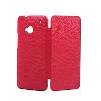 Чехол-Книжка для HTC 801e One Tetded красный (HTN1TSRD)